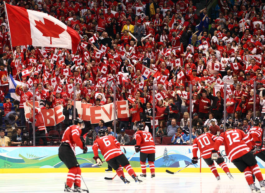 Hockey as our national identity