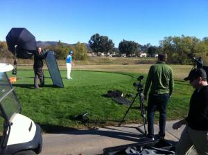 Shoot with Ricky Fowler