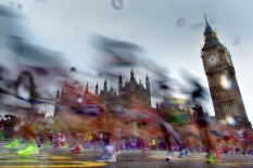 LONDON, ENGLAND - AUGUST 5: during the Women's Marathon Final, Day 10 of the London 2012 Olympic Games on August 5, 2012 in London, England. (Photo by Donald Miralle) **Picture of the Day**